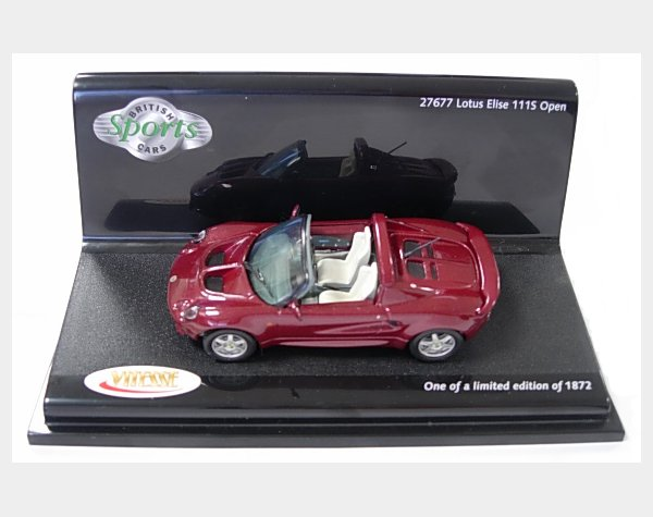 Lotus Elise 111S Open - Ruby Red