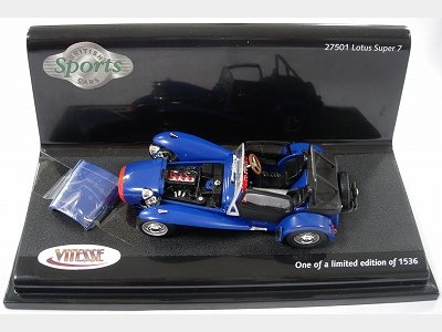 1:43 LOTUS7-Dark Blue
