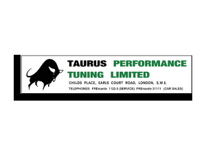 Taurus Performance Tuning ウィンドステッカー