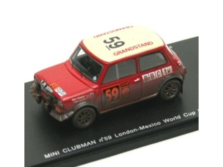 MINI CLUBMAN No.59 London-Mexico World Cup Rally 1970