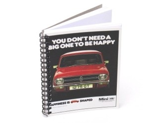 Vintage Ad Gallery Notebook Mini 1275GT 1975